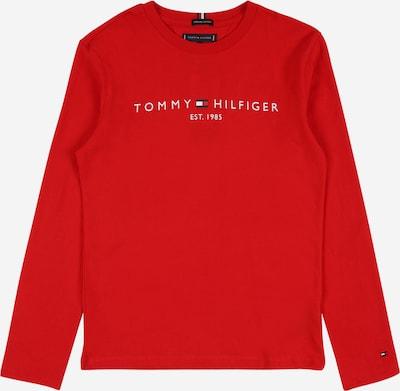 TOMMY HILFIGER Tričko 'ESSENTIAL' - červená / bílá, Produkt