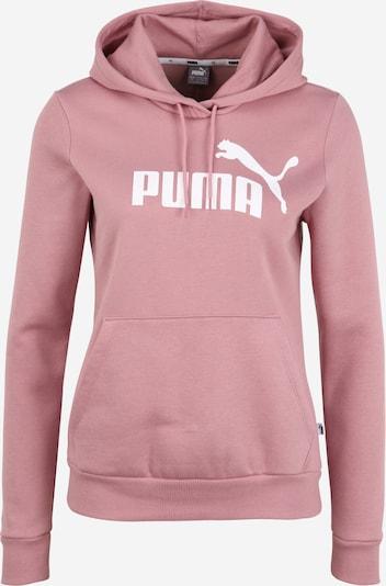 Bluză de molton PUMA pe roz vechi / alb, Vizualizare produs