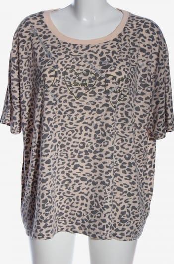 sweewë Kurzarm-Bluse in L in creme / hellgrau, Produktansicht
