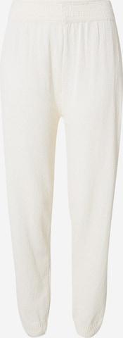 Pantaloni 'JASMINE' de la WAL G. pe alb