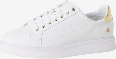 Sneaker low 'Angeline' Lauren Ralph Lauren pe auriu / alb, Vizualizare produs