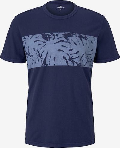 TOM TAILOR Shirt in de kleur Navy / Smoky blue, Productweergave