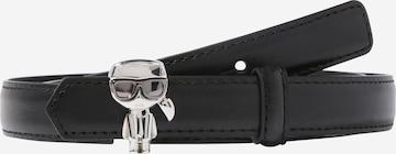Karl Lagerfeld - Cinturón en negro