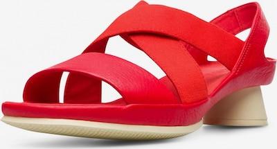 CAMPER Sandale 'Alright' in rot, Produktansicht