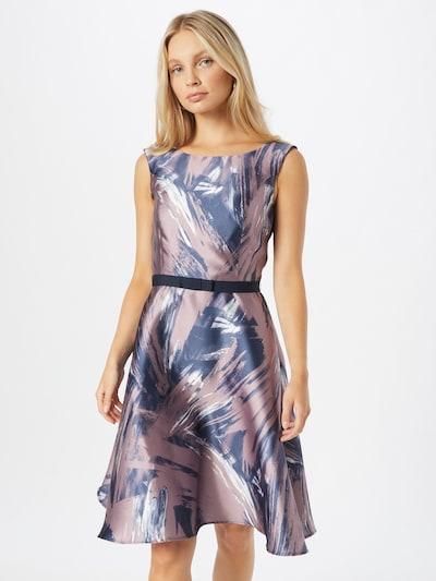 SWING Cocktailklänning i blå / lila / vit, På modell