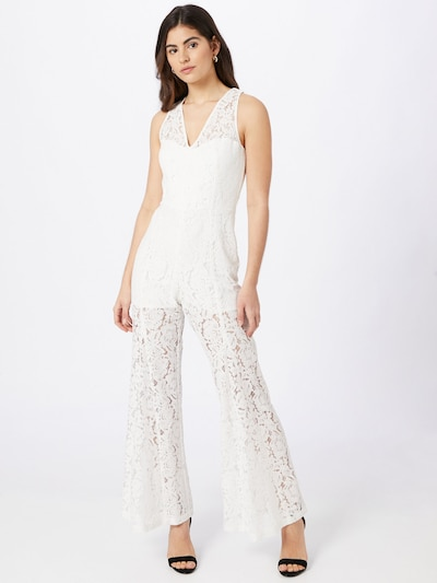 GUESS Jumpsuit 'RACHAEL' in de kleur Wit, Modelweergave