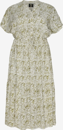 NO.1 by OX Robe en vert / blanc, Vue avec produit