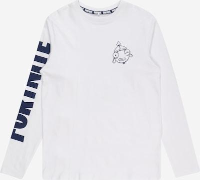 LMTD Shirt 'Freddy' in de kleur Navy / Wit, Productweergave
