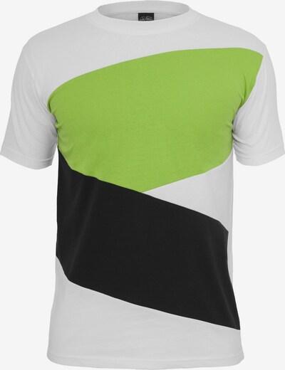 Urban Classics Shirt ' Zig Zag Tee ' in de kleur Gemengde kleuren: Vooraanzicht