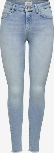 ONLY Jeans 'onlBLUSH MID SK ANK RAW JEANS REA306' i blå denim, Produktvy