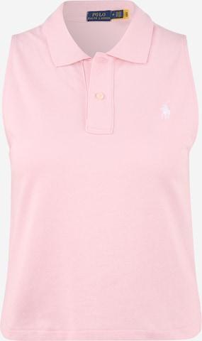 Haut Polo Ralph Lauren en rose