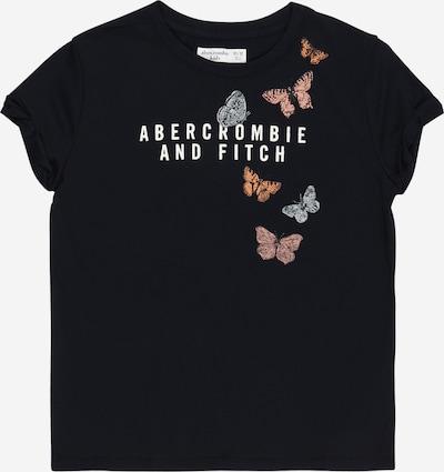 Abercrombie & Fitch Shirt in nachtblau / hellblau / pastellorange / altrosa / weiß, Produktansicht