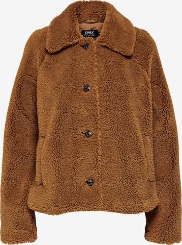 ONLY Overgangsjakke 'EMILY' i brun