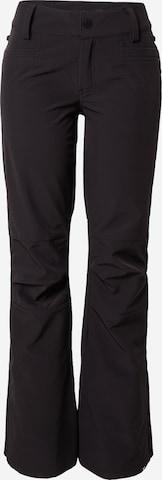 ROXY Spodnie outdoor 'CREEK' w kolorze czarny