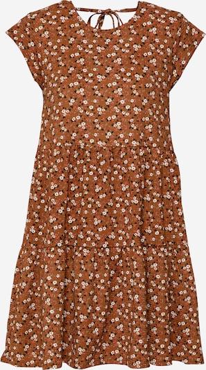 Stitch and Soul Лятна рокла в кафяво / лилав / пъпеш / черно / бяло, Преглед на продукта