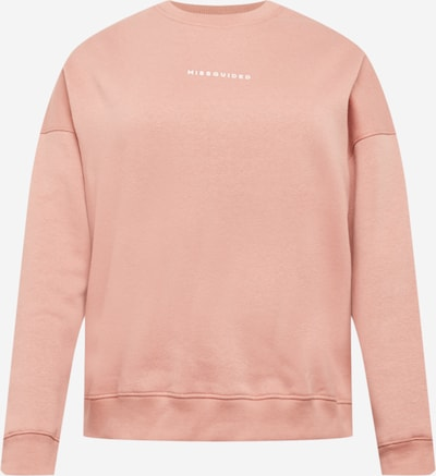 Missguided Plus Sweatshirt in hellpink, Produktansicht