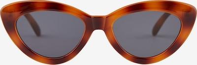 PIECES Lunettes de soleil 'Myska' en marron / orange, Vue avec produit