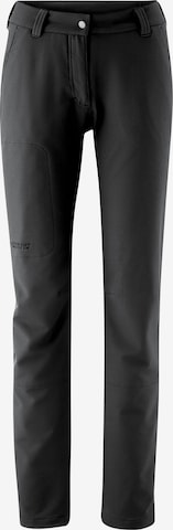 Maier Sports Outdoor Pants 'Helga' in Black