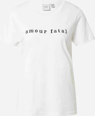 ICHI T-shirt i svart / vit, Produktvy
