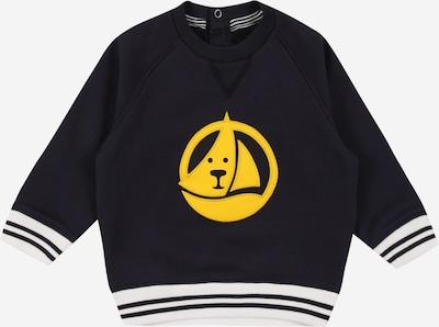 PETIT BATEAU Sweatshirt in dunkelblau / gelb / weiß, Produktansicht