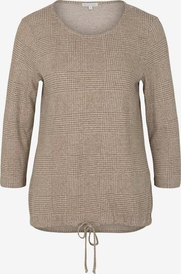 TOM TAILOR T-Shirt in beige, Produktansicht