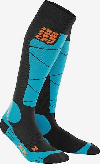 CEP Socken in blau / schwarz, Produktansicht