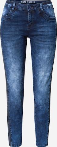 Soccx Teksapüksid 'DA:NA', värv sinine