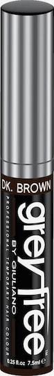 Greyfree Haarmascara in dunkelbraun, Produktansicht