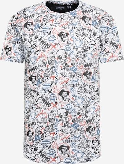 BRAVE SOUL T-Krekls tumši zils / sarkans / melns / balts, Preces skats