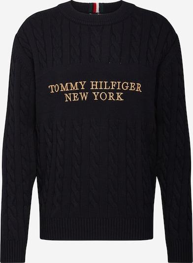 TOMMY HILFIGER Svetr - tmavě modrá / žlutá, Produkt