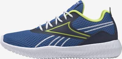 Reebok Sport Chaussure de sport 'Flexagon Energy' en bleu / bleu marine / jaune fluo, Vue avec produit