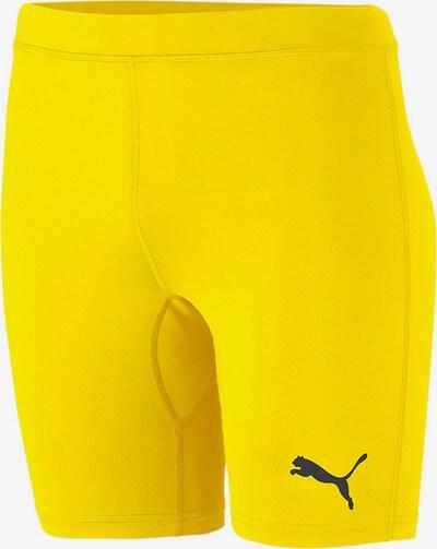 PUMA Sporthose in limone / schwarz, Produktansicht