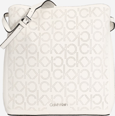 Calvin Klein Torba za čez ramo | bela barva, Prikaz izdelka