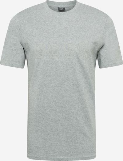 BOSS T-Shirt 'Tiburt 256' in grau, Produktansicht