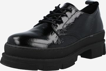 Chaussure à lacets 'AYA' SELECTED FEMME en noir