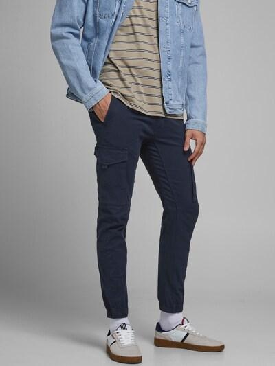 JACK & JONES Pantalón cargo en azul, Vista del modelo
