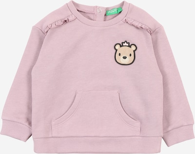 UNITED COLORS OF BENETTON Sweatshirt in pastellpink, Produktansicht