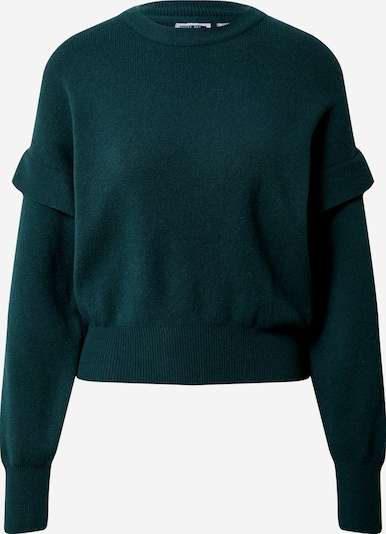 Noisy May (Petite) Pullover 'ELODIE' in dunkelgrün, Produktansicht