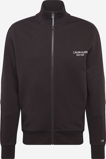 Calvin Klein Dressipluus must / valge, Tootevaade