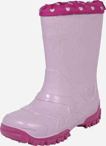 ELEFANTEN Rubber Boots 'Josia' in Purple