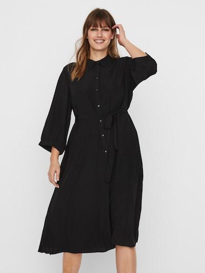 Vero Moda Curve Košilové šaty 'Cara' - černá, Model/ka