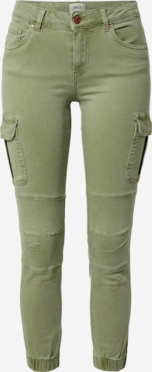 Only (Petite) Cargobroek 'Missouri' in de kleur Groen, Productweergave