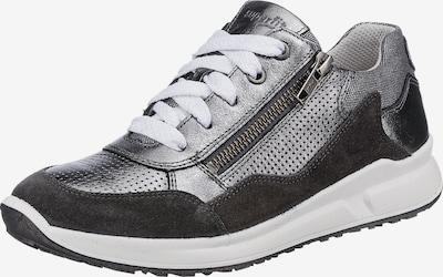 SUPERFIT Sneaker 'Merida' in greige / silber, Produktansicht