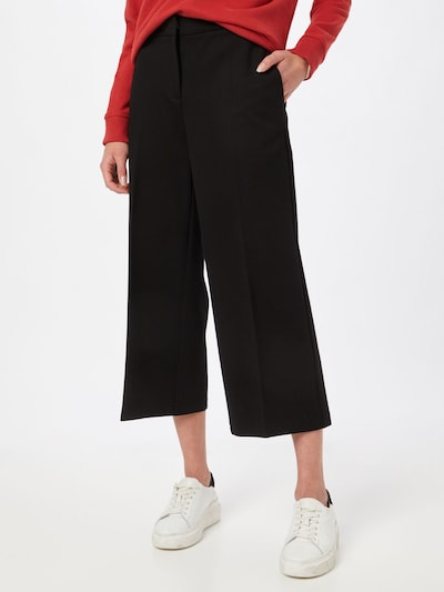 BOSS Casual Hose 'Teslima' in schwarz, Modelansicht