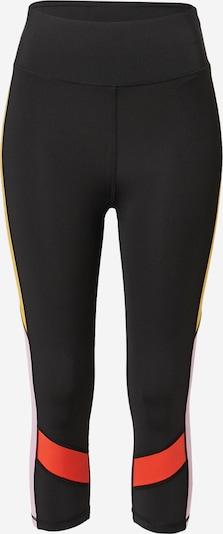 ONLY PLAY Sportbroek 'AGNE' in de kleur Geel / Rosa / Rood / Zwart, Productweergave