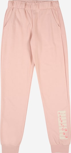 PUMA Spodnie w kolorze różowy pudrowy / różany / białym, Podgląd produktu