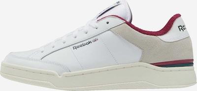 bézs / merlot / fehér Reebok Classics Rövid szárú edzőcipők, Termék nézet