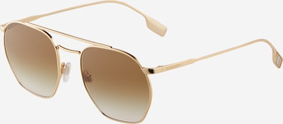 BURBERRY Sonnenbrille '0BE3126' in gold / khaki, Produktansicht