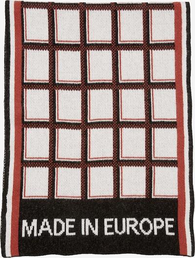 Marc O'Polo Pure Sjaal in de kleur Cappuccino / Kreeft / Zwart / Wit, Productweergave