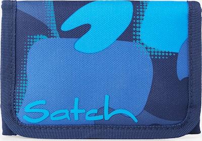 Satch Portemonnee in de kleur Blauw / Nachtblauw / Lichtblauw, Productweergave